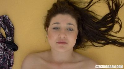 Czech Chubby Girl Masturbating On Camera
