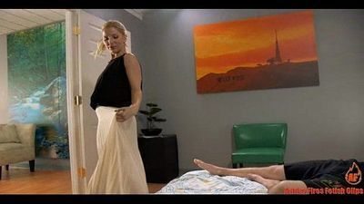 Mother Preparing Son For The Big Game (Modern Taboo Family)