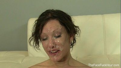 Jennifer White gets face fuckedHD