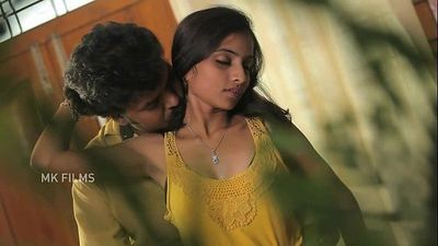 Young sexy desi has her boobs and ass grabbed in bgrade scene