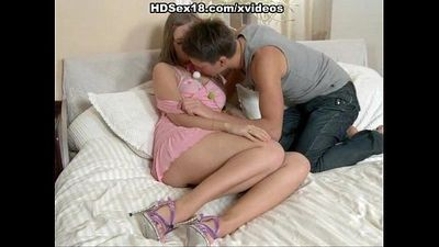 Young girl first time having sex