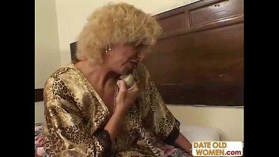 Grandmother fucking young girl
