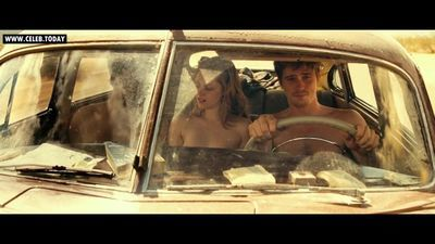 Kristen Stewart - Naked Threesome, Topless Sex Scenes - On the Road (2012)
