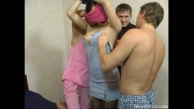 Orgy in russian family