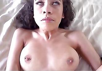 Sexy Teen Latina Step Daughter Lana Mars Orgasms On Her Step Dads Big Cock POV 8 min HD