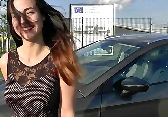 Chloe takes a Ride