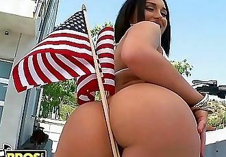 BANGBROSHappy Birthday, America. Here Is Gabriella Paltrova Taking It In The Ass. 12 min HD
