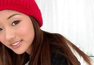 Petite asian cocklovers pretty face cumshot - 8 min HD