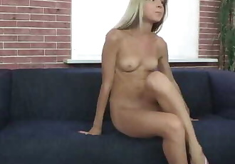 First Porn Video of the Skinny Teen