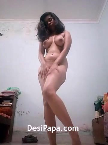 Hot Indian Teen Babe Aditi Playing With Her Boobs