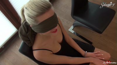 Blinddate Mistake! Double Cumshot For Blonde German Schnuggie91