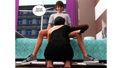 Incest story – Aunt- Icstor - part 2