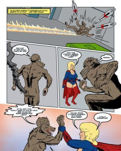 Blonde Marvel - Mervin The Monster - part 2