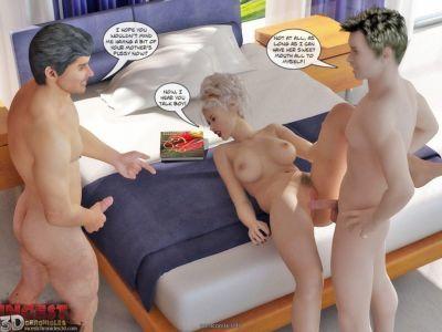 Private Love Lessons -IncestChronicles3D - part 4