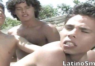 Three Spunky Latinos
