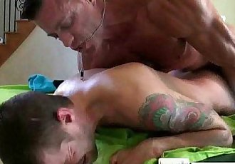 Massagecocks Muscule Ass MassageHD