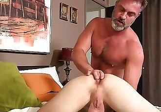 Bratty Sons Anal Punishment from Bear StepDaddy!