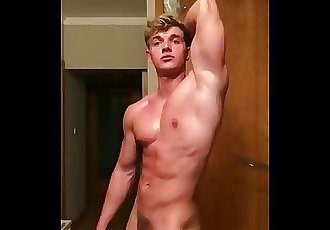 Teen Bodybuilder Shows Off Again
