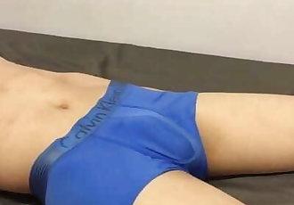 Handsfree Cum in Underwear