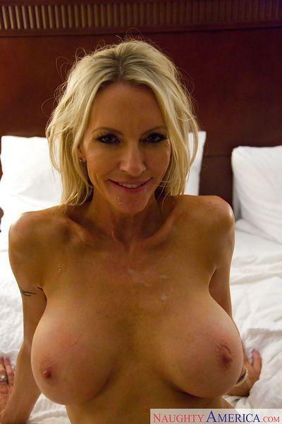 Tasty mature slut Emma Starr has a bang as an amateur GF in a hotel - part 2