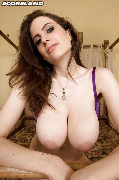 Big tits beauty Lillian Faye amazing nudity and soft core pussy fingering - part 2