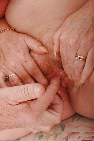 Horny senior citizen Angeline and her husband still fucking hard in their 70s - part 2