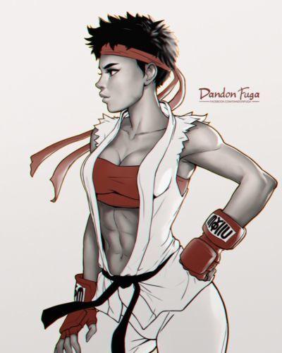 Artist - Dandon Fuga - part 5