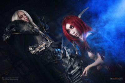 Warcraft ARTAS and blood elf