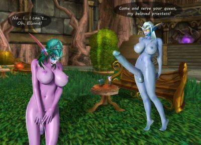 World of Warcraft Mixed Futanari/Shemale and Traps - part 4