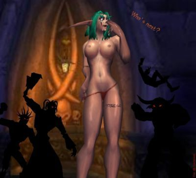 WOW CG game - part 6