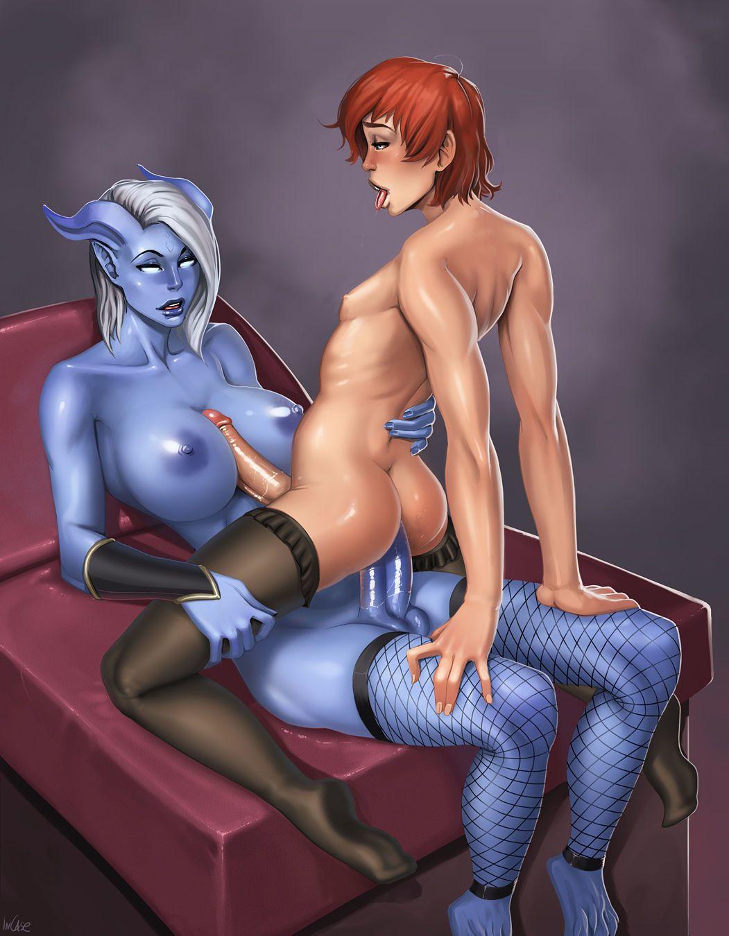Warcraft Trap Porn