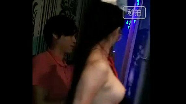 Chinese slut rubs her butt to young guys cock
