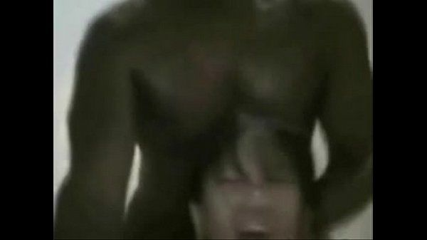 Huge BBC fucking tiny asian brains out