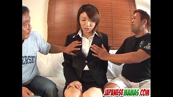 Strong toy porn for hairy Japanese Mitsu Anno
