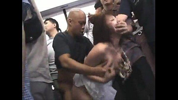 Asian girl Forced. Public sex