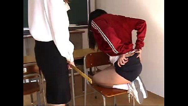 009 Student Skipping Sports Class Gets Spanking