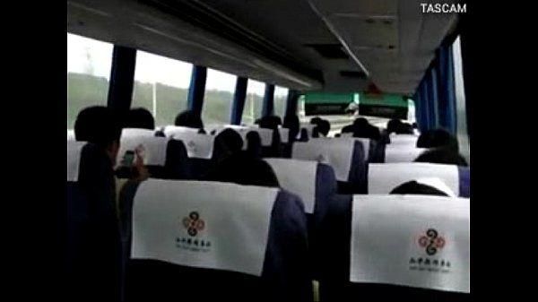 reality girl masturbation on bus in china road