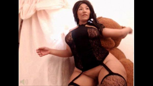 Thick Asian Model Shows off her Curves pt 2