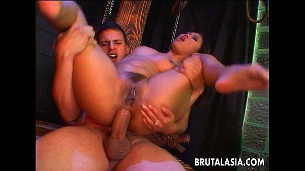 Fantastic Asian memserizer getting her ass ripped apart