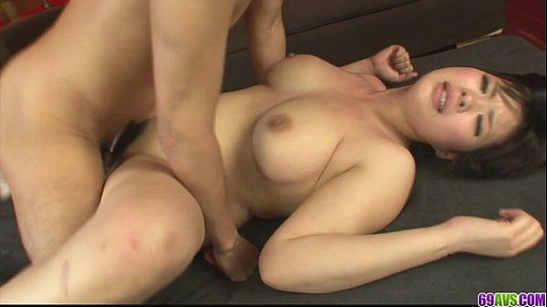 Pervert and kinky Asian girl giving blow job and screwed