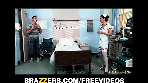 Sexy Japanese nurse Marcia Hase helps rehabilitate her patient HD