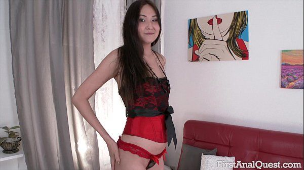 FIRSTANALQUEST.COM FIRST TIME ANAL PORN WITH THE YOUNG & SEXY ALISA KIM HD