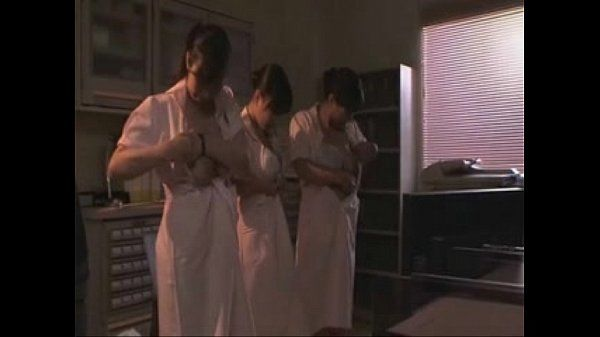 Japanese girls play with tits