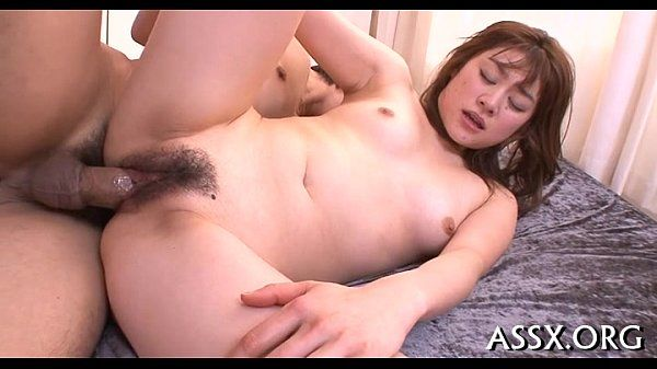 Lively oriental group-sex