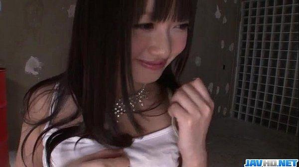 Kotomi Asakura appealing Asian goes naughty on cock
