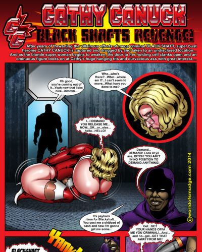 Smudge Cathy Canuck - Black Shaft Revenge!