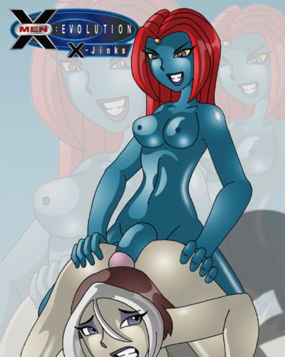 X^J^Kny X-Jinks (X-Men Evolution) - part 3