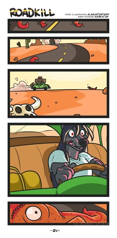 alabaster Roadkill