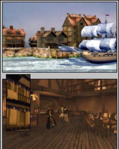 Dreamweaver Pirates vs. Ninjas