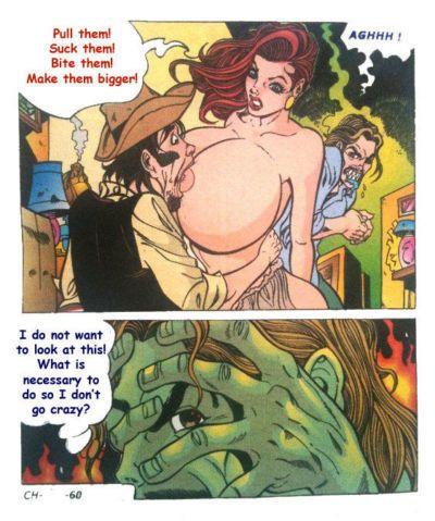 Milf sexe de dessin animé
